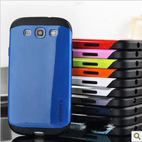 Newest Style Slim Armor Armour SPIGEN SGP Soft Silicon Case For Samsung Galaxy S3 III I9300,Screen Protectors+Free shipping