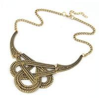 Retro fashion simple short necklace temperament necklace sweater chain  fashion jewelry