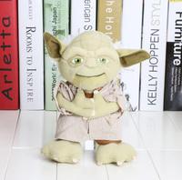 1Piece 7.8'' Star Wars Character plush toy Yoda Soft Stuffed Plush Doll Toy