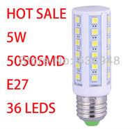 SMD 5050 36LED Light Corn Bulb for home Lamp G24 or E27 576LM Cool Warm White 220V-240V