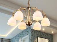Pendant light individuality brief fashion bedroom lights lighting home wrought iron pendant light