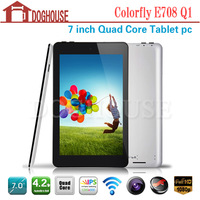 Dropship 7 Inch Colorfly E708 Q1 Quad Core IPS Touch Screen Tablet Pc 1GB/8GB Android 4.2 WIFI