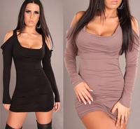 Hot sale Sexy Women Party Clubwear mini Club Dress Lingeries Nightwear Shirt 2 color for choose