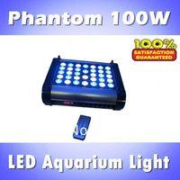 Phantom 100W LED aquarium light, aquarium led light programmable dimmable & timer, blue: white =1:1/2:1/1:2 (customizable)