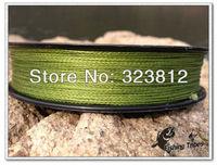 wholesale - 100m 10LB15LB20LB30LB40LB50LB65LB80LB grass green dyneema braided fishing line free shipping