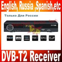 HD DVB-T2 receiver  Compliant MPEG-2/MPEG4/H.264&Fully DVB-T2 standard