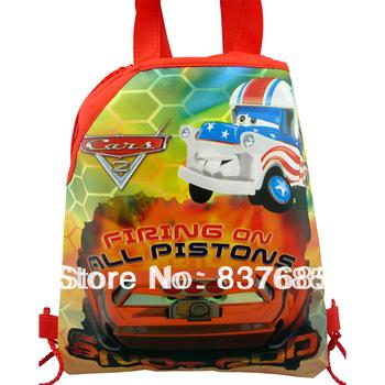 1Pcs Cars story 4 Children backpacks Cartoon Drawstring Backpack School Bags , mochila, shopping ...