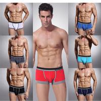 High Quality calves Men's Underwear sexy fashion brand Modal kelson underwear man boxer shorts Free Shipping