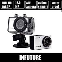 full hd1080p wifi digital video camera GOPRO action digital camera max 12.0 mega pixels action camera FREE shipping DV-126SA
