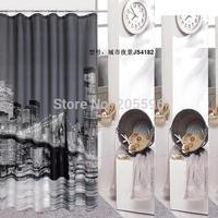 terylene cloth waterproof bathroom curtain shower curtain bath curtain,bath screen,bathroom products