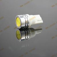 20pcs/lot  T10 1W CAR LED Light T10 1W White Side Light LED Bulb T10 T10 194 168 High Power Car Lamp Free Shipping