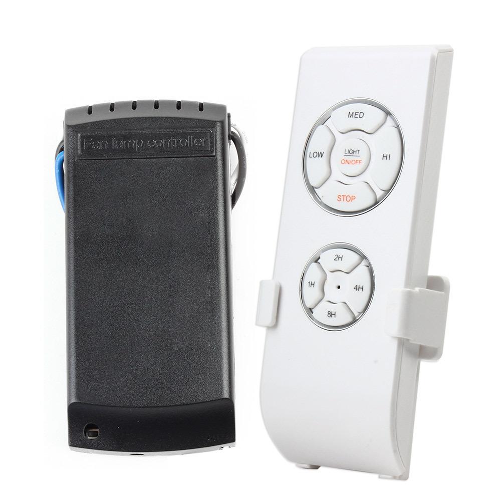Ceiling fan remote control light switch : Pecham fan lamp wireless remote control ceiling and