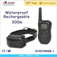 dog training collar for one dog waterproof and rechargeable IS-PET998DB-1