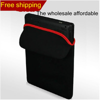 "Black Laptop 10"" 12"" 13"" 14"" 15"" Thickened shockproof laptop sleeve and bag computer bag Diving suit same material Free shipping"
