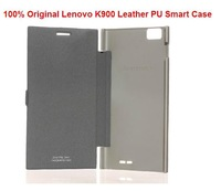 Lenovo k900 Flip Case Cover Original in stock gift screen protector Smart Case Free Shipping