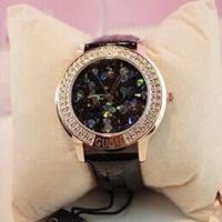 2014 Women Designer Watches Diamond Rhinestone Wristwatches,Luxury Fashion Leather Watch, Ladies Dress Watches Bangle Bracelet