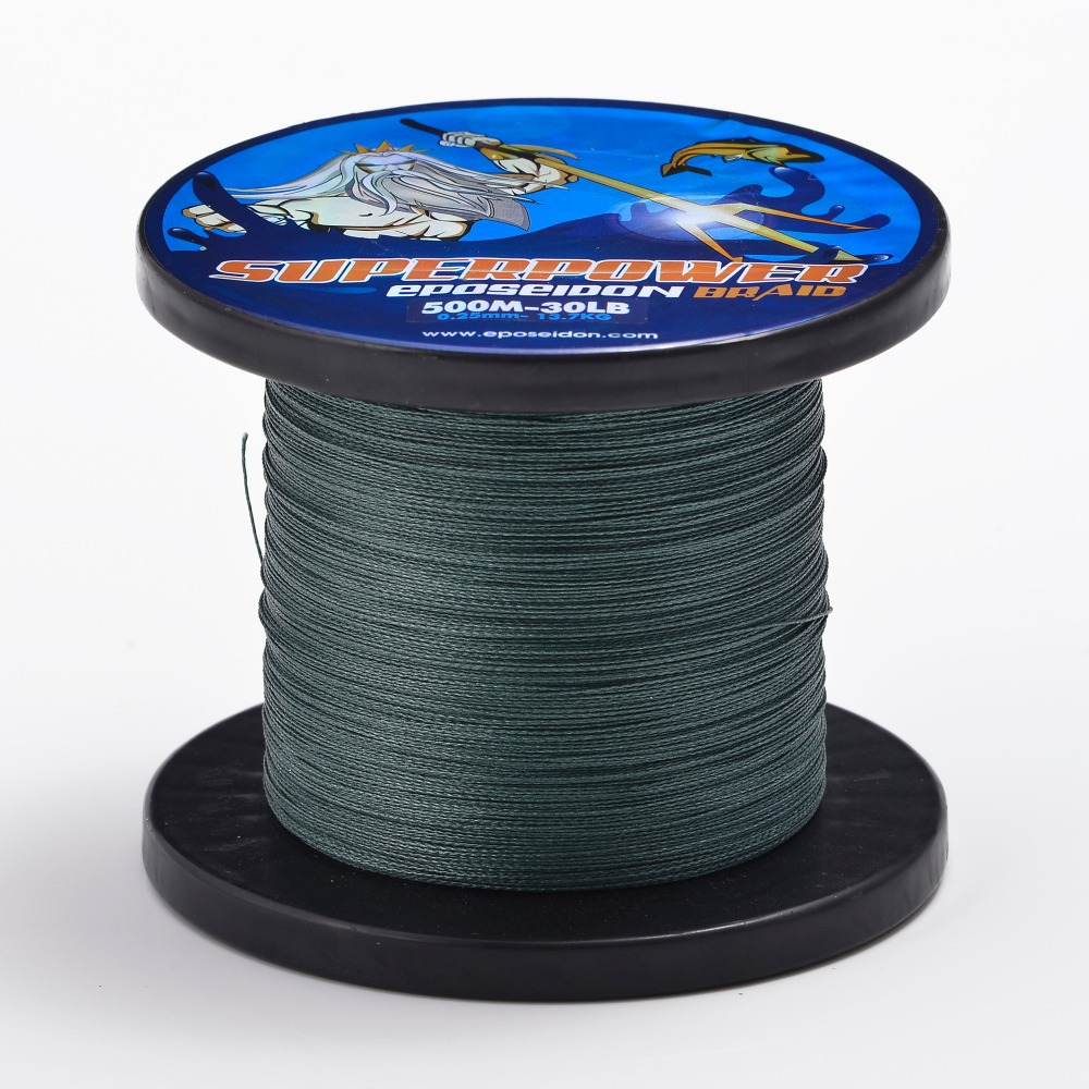 1000m Gray, Green, White High Quality Best PE Braid Fishing Line12 16 20 27 31 40 45 50 65 80 LB Bass Fishing Free Shipping(China (Mainland))
