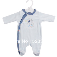 Half discount  per piece  New arrival newborn casual embroidery spring /autume romper baby clothing for baby boys and girls