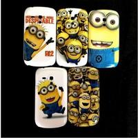 For Samsung Galaxy S3 mini i8190 Despicable Me Minions Design Hard Back Case Cover free shipping