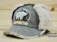 New arrival winter cap befriended lei feng cap baseball cap winter female male hat casual cap