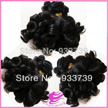 new arrival hair 3pcs Brazilian curly virgin hair weft 6A grade virgin human hair weaves 100% aunty funmi hair free shipping