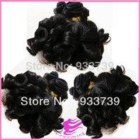 new arrival hair 3pcs Brazilian curly virgin hair weft,6A grade virgin human hair weaves,100% aunty  funmi hair free shipping