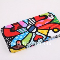 Hot sale Graffiti case for iphone 4g 4s plastic hard cover case free shipping 1pcs/lot