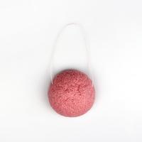100% Natural Konjac Sponge Facial Wash Cleaning Sponge Rose 9g 6.5*3cm CS001403