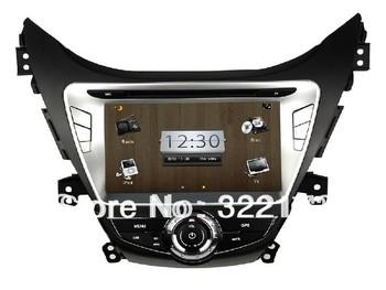 Car PC Android 4.0  Radio Audio DVD Player GPS WiFi 3G Bluetooth TV iPod For HYUNDAI Elantra  Avante i35 2011~2013 Free Shipping