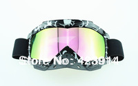 UV Protection Super Sports Ski Snowboard Skate Goggles Glasses Outdoor Motorcycle Off-Road Ski Goggle Glasses Eyewear Lens