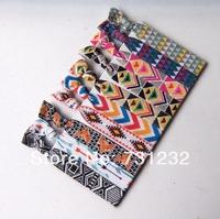 polka dots & animals & chevron printed FOE  hair ties foldover  elastic hair ties wholesale  100 pcs 10colors  free  shipping