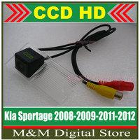 Kia Sportage 08/09/2011/2012 HD CCD Car Rear View Camera Reverse Parking Camera  night vision waterproof Camera Free shipping