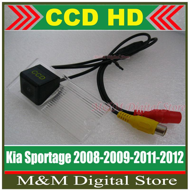 Kia Sportage 08/09/2011/2012 HD CCD Car Rear View Camera Reverse Parking Camera night vision waterproof Camera Free shipping(China (Mainland))