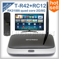 [Free SG RC11] T-R42 Bluetooth MK888B CS918 Android 4.2 TV Box RK3188 Quad Core Mini PC 2GB RAM K-R42 MK888 WiFi Antenna