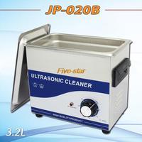 globe Free shipping AC110/220V ultrasonic cleaner 3.2L JP-020B 180W 40000 Hz Frequency PCB hardware lad equipment  free basket