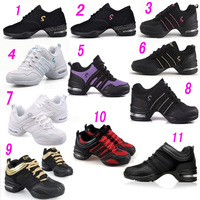 size 35-40 Ladies' Dance Shoes.lace-up walking shoes.woman dancing Sneakers.net sport shoes retail and wholesale DS101