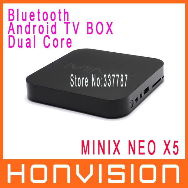 MINIX NEO X5 Dual Core Cortex A9 Google Android TV Box Bluetooth 1GB RAM 16GB ROM SD/MMC Slot/XBMC/3G Dongle Free Shipping(China (Mainland))