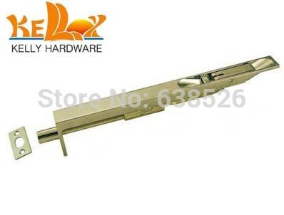 brass material door bolt 6 inch length barrel bolt flush bolt(China (Mainland))