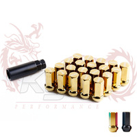 KYLIN STORE - Project mu lug nuts wheel nuts   P:12x1.5 20 Pieces/Set gold or black color