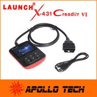 Classic Code Scanner Launch CReader VI OBDII/EOBD Code Reader Popular OBD2 Auto Scanner CReader 6 + Gift Super Mini ELM327 BT