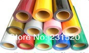 T-shirt printing supplies 0.5mx25M One Roll PU heat transfer film Made in South Korea high quality Choose from 27 colors