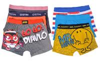 Free Shipping Cartoon Car Mickey Mouse Patterns Kids Panties Boys' Boxers Children Underpants 12 pcs/lot underwear Wholesale