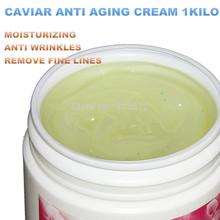 Caviar anti-wrinkle 1000g lines wrinkle moisturizing whitening cream hospital equipment  Beauty salon free shipping