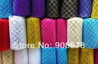 3'' Mylar Ribbon Flat Crinoline - shimmer - Horsehair Braid Ribbon for Hats and Fascinators #25 colors
