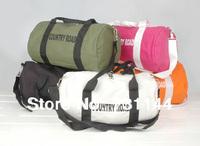 Fashion sports male women's handbag drum bag travel casual bag handbag canvas bag messenger bag small