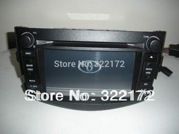 Car Radio Audio DVD Player GPS For TOYOTA RAV4  2006~2012 Free Shipping