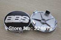 Free Shipping 4PCS/LOT 68mm 3D Etching BBS Sticker Wheel Center Caps BBS Emblem Wheel Covers Hub Caps