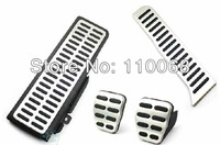 High quality MT Volkswagen VW  Passat B6 B7L CC Superb Pedal Clutch Fuel Footrest Accelerator Brake pedals Auto accessories