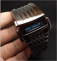2013 New Hot Special Iron Man Style Men's Creative Robot Electronic Digital LED Wrist Watch