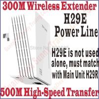 TPLink Single TL-H29E Wireless Power line Adapter Extender WIFI hotspot 300mbps Wireless Router TL H29E Ethernet Network Adaptor